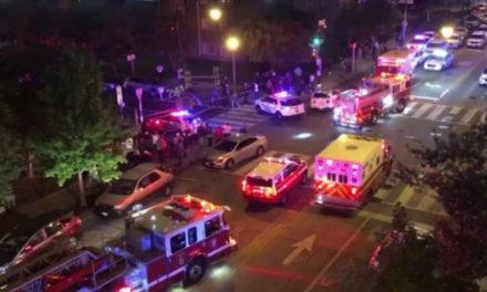Al menos un muerto y cinco heridos en un tiroteo en Washington