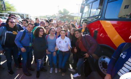 Extienden rutas de transporte para beneficio de estudiantes de la UABC