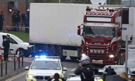 Caen otros dos relacionados con hallazgo de 39 cadáveres en Londres