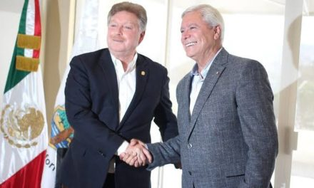 Se reúnen Francisco Vega y Jaime Bonilla con Arturo Herrera, Secretario de Hacienda