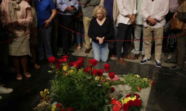 Inicia exhumación de Francisco Franco en el Valle de los Caídos