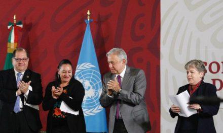 Será pacífica pero profunda la 4T, dice López Obrador