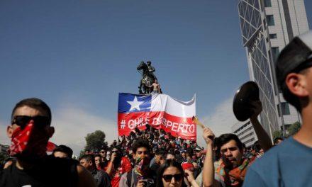 Suman 18 muertos por protestas en Chile