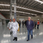 Gobernador Bonilla recorre instalaciones de la Guardia Nacional en Tijuana