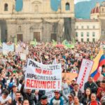 Miles repudian a Iván Duque; paro nacional en Colombia
