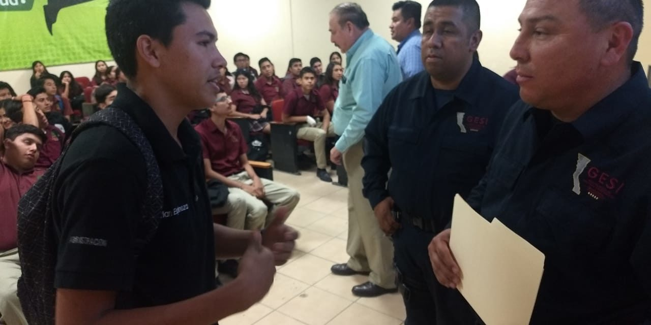 Guardia Estatal de Seguridad promueve prevención del delito