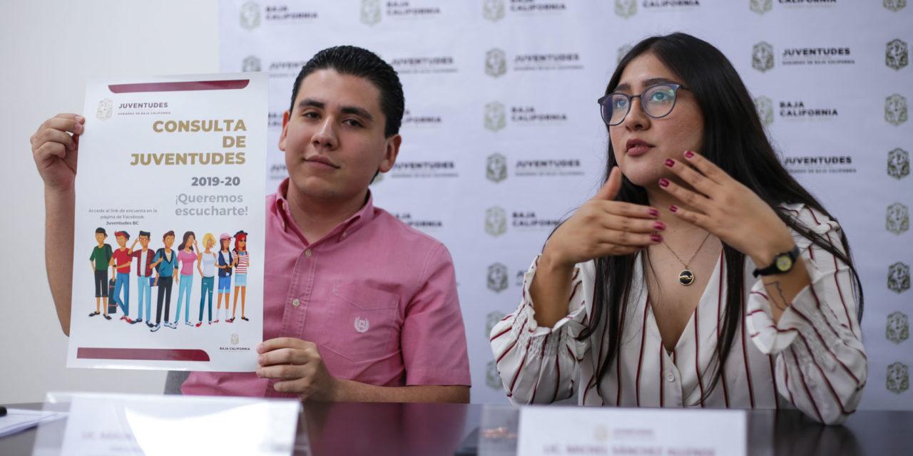 """Gobierno de BC anuncia """"Consulta de Juventudes 2019-20"""""""