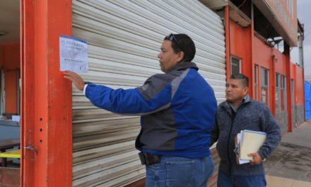 Clausuran establecimientos por no contar con Licencia Ambiental