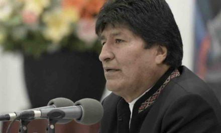 Advierte Evo Morales que hará respetar el voto