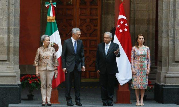 AMLO: interés de Singapur en el corredor Transístmico
