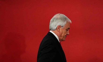 Chile: sólo 9% apoya a Piñera