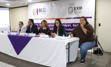 Congreso e IEE realizan foro sobre Paridad de Género en Baja California