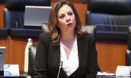 """Pide Gina Cruz que FGR investigue """"moches"""" a funcionarios de gobierno de Bonilla"""