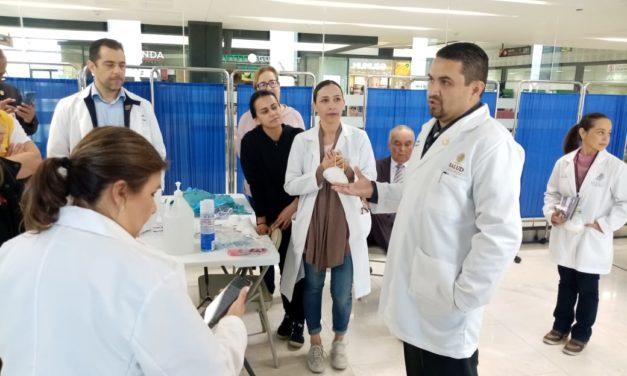 Supervisa Secretario de Salud acciones preventivas ante llegada de vuelo procedente de China