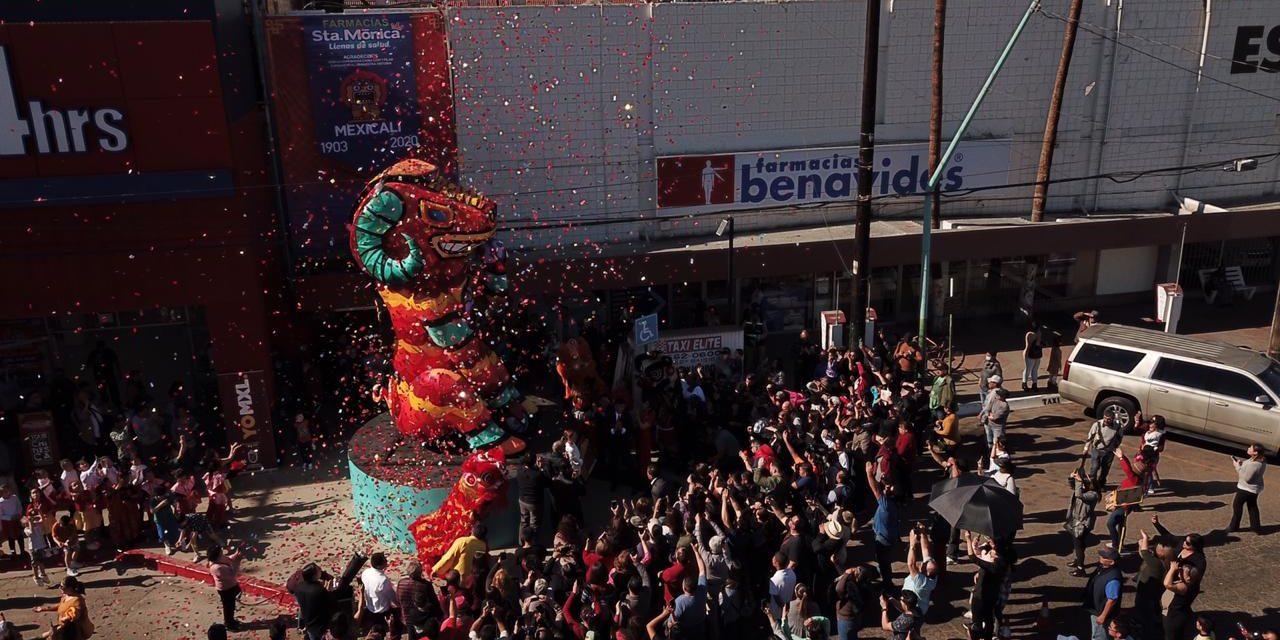 Celebran con Festival la llegada del Año Nuevo Chino en Mexicali