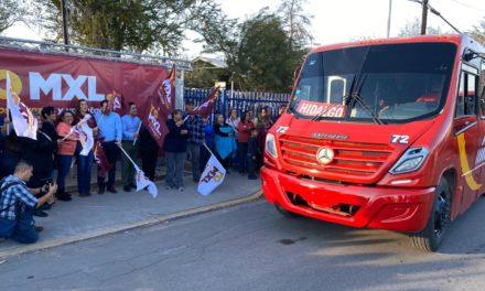 Reactivan ruta de transporte Hidalgo-Centro