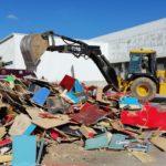 Destruyen 317 máquinas tragamonedas aseguradas por la Fiscalía del Estado