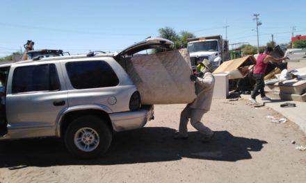 Gobierno municipal recolectará enseres domésticos en Lomas de Abasolo