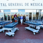 Alcaldesa entrega donativo al Hospital General de Mexicali