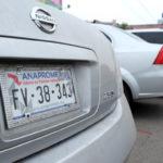 """Gobierno del Estado sancionará a asociaciones que den """"placas"""" a autos chocolate"""